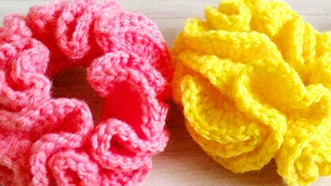 How To Crochet Hair Scrunchies | DIY Joy Projects and Crafts Ideas