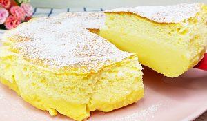 3-Ingredient Custard Cream Cake Recipe