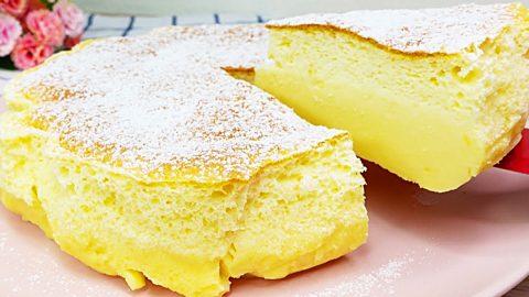 3-Ingredient Custard Cream Cake Recipe   DIY Joy Projects and Crafts Ideas