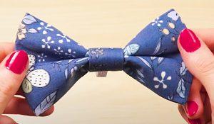 No-Sew Doggie Bow Tie With Free Pattern