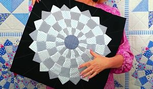 How To Make A Dresden Plate Quilt Block