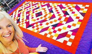 Plaza Pattern Beginner's Fat Quarter Quilt