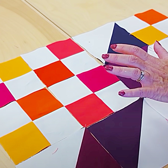 How To Make A Fat Quarter Beginner's Quilt - Fat Quarter Quilt Pattern Easy Fat Quarter Quilt - Easy Sewing Ideas
