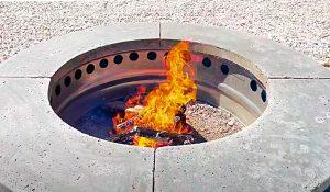 DIY Smokeless Fire Pit Build