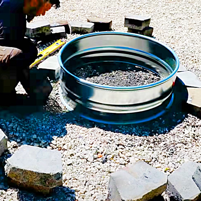 DIY Smokeless Fire Pit Build - DIY Outdoor Ideas - How To Build A Fire Pit