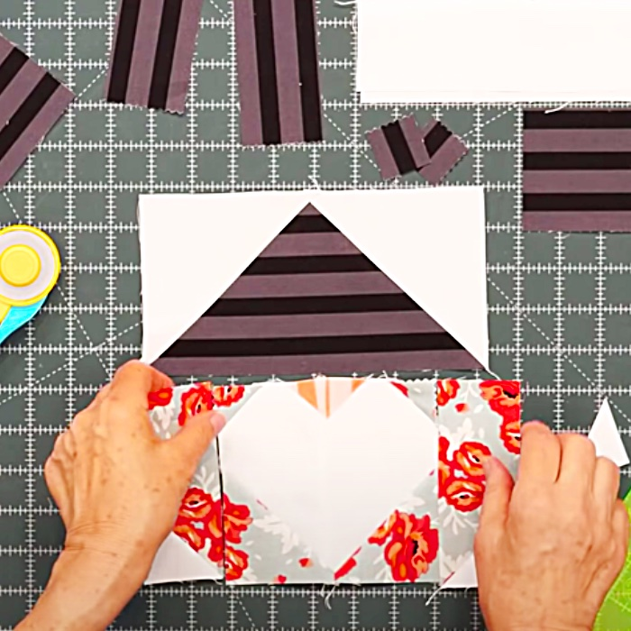 Gnome I Love You Quilt With Jenny Doan - Easy Quilt Pattern - Gnome Quilt Pattern - Easy Sewing Ideas