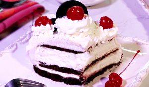 Black Forest Ice Cream Sandwich Cake Recipe