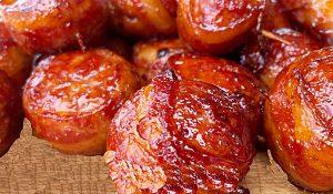 Bacon-Wrapped Meatball Recipe