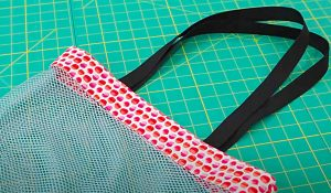 How To Sew A Mesh Tote Bag