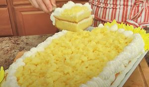 Italian Mimosa Cake Recipe