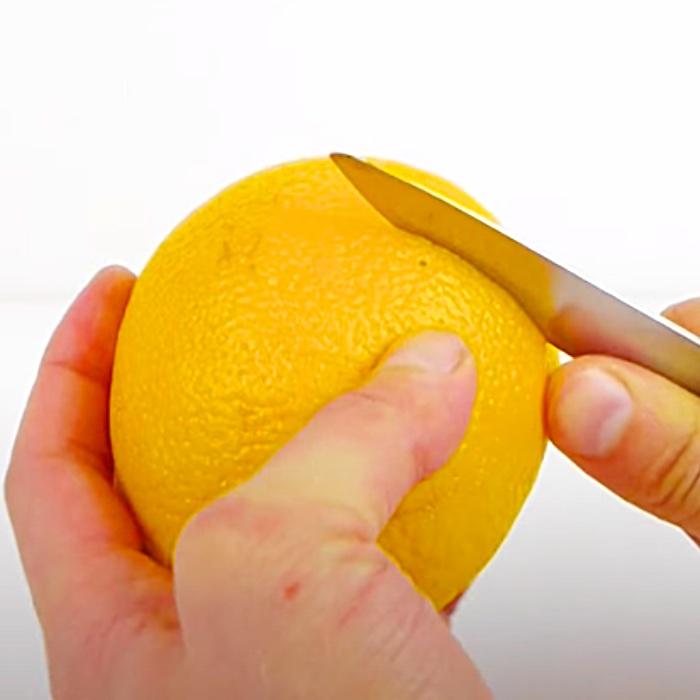 How To Peel Oranges - Easy Ways To Peel Fruit - DIY Fruit Bowl