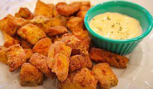 Crispy Air Fryer Salmon Nuggets Recipe