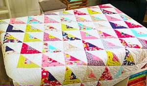 Scrappy Triangle Quilt Pattern