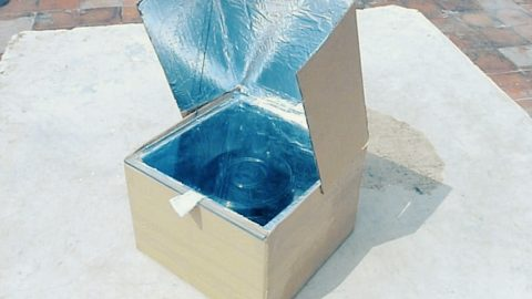Turn A Cardboard Box Into A Solar Oven   DIY Joy Projects and Crafts Ideas