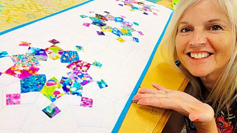 Starburst Table Runner With Donna Jordan | DIY Joy Projects and Crafts Ideas