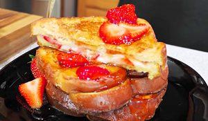Strawberry-Stuffed French Toast Recipe