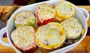 Southwestern Stuffed Bell Peppers Recipe