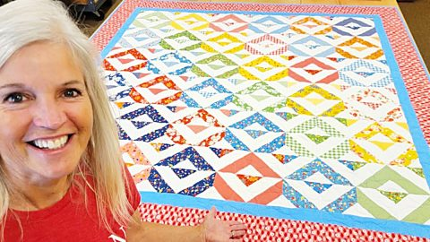 Simplicity Quilt With Donna Jordan   DIY Joy Projects and Crafts Ideas