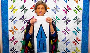 Butterfly Quilt With Jenny Doan