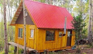 How To Build An Off-The-Grid Cabin