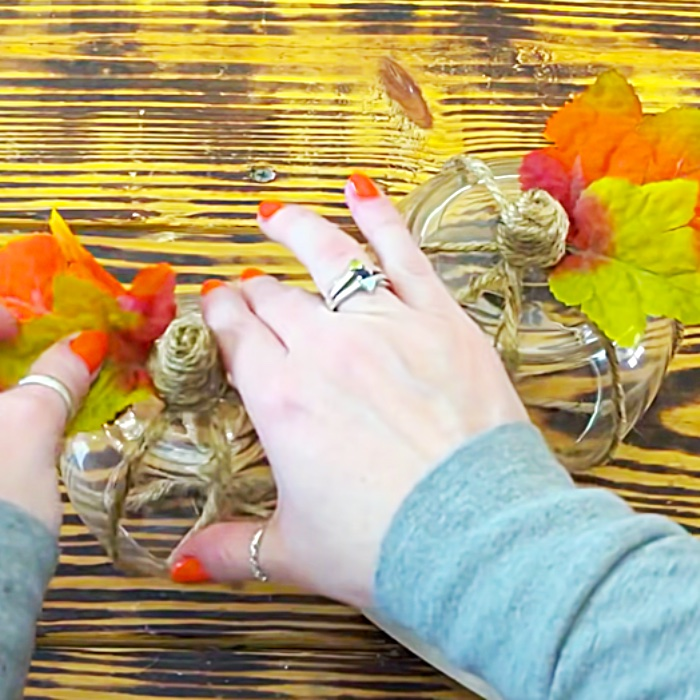 How To Make A Dollar Tree Light Display - Fall Decor - Dollar Tree Decor -How To Make A Fall Lighting Project