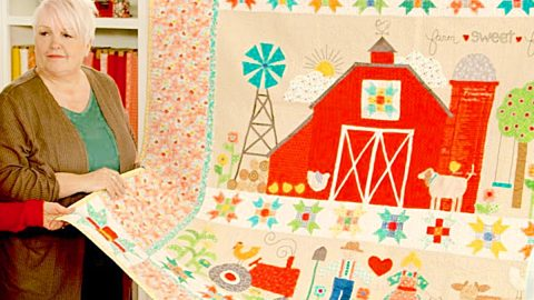 Farm Sweet Farm Quilt With Lori Holt | DIY Joy Projects and Crafts Ideas