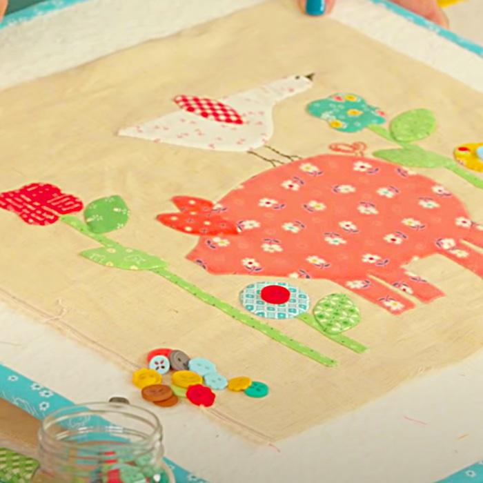 Farm Sweet Farm Quilt With Lori Holt - Easy Quilt Pattern - Farm Animal Quilt Pattern - Easy Sewing Pattern