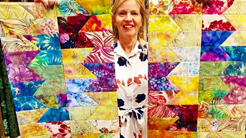 Jelly Roll Placemats With Donna Jordan | DIY Joy Projects and Crafts Ideas
