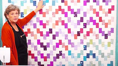 Lakeview Terrace Quilt With Jenny Doan   DIY Joy Projects and Crafts Ideas