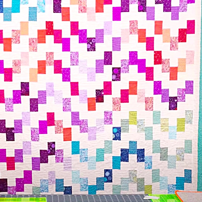 Lakeview Terrace Quilt - Easy Sewing Pattern - Free Quilt Pattern - How To Make A Quilt