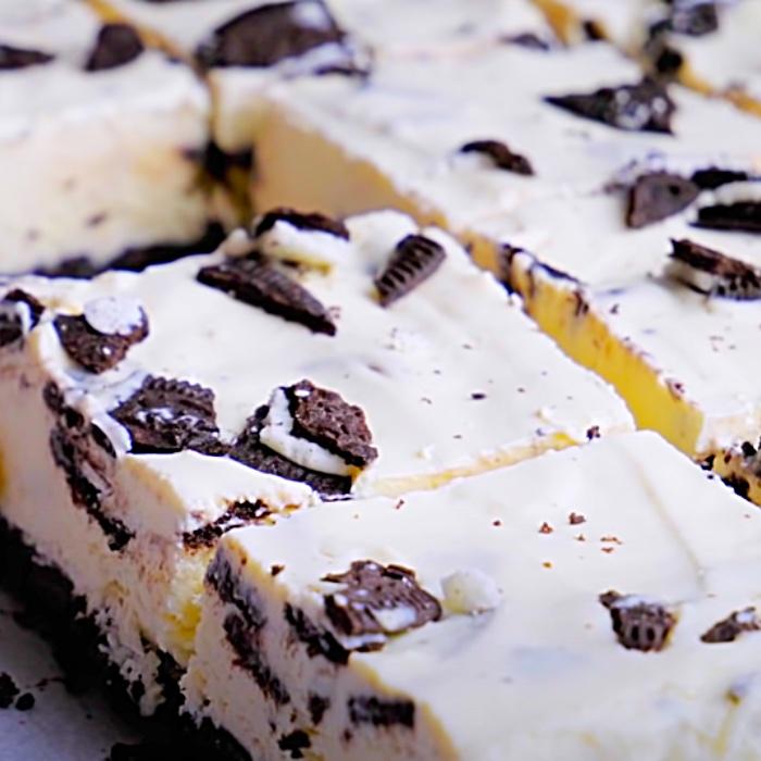 How To Make Oreo Bars - Easy Dessert Ideas - No Bake Dessert Ideas - No Bake Oreo Bars Recipe