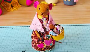 How To Make A Patchwork Mouse With Free Pattern