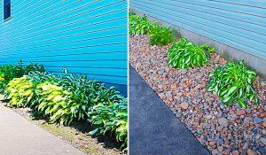 DIY Rock Garden Bed