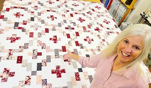 Rose Crossing Quilt With Donna Jordan