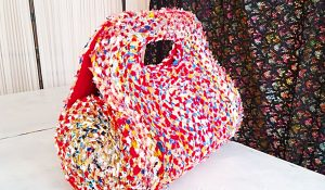 Patchwork Sewing Bag From Scraps