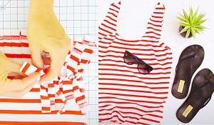 Turn A T-Shirt Into A Tote Bag
