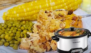 Crockpot Summertime Thanksgiving In A Bowl Recipe
