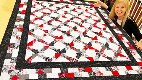 Zero-Waste Quilt With Donna Jordan | DIY Joy Projects and Crafts Ideas