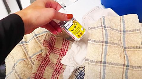 How To Whiten Clothes With An Aspirin   DIY Joy Projects and Crafts Ideas