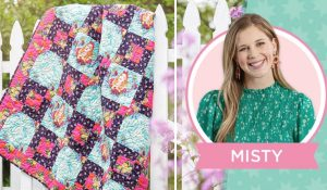 Curiouser And Curiouser Quilt With Misty