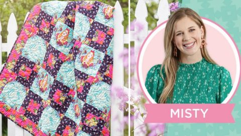 Curiouser And Curiouser Quilt With Misty | DIY Joy Projects and Crafts Ideas