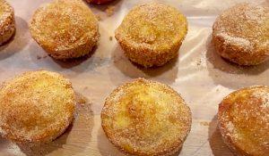 Paula Deen's Cinnamon Donut Cupcake Recipe