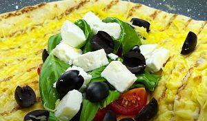 Egg And Tortilla Feta Wrap Recipe