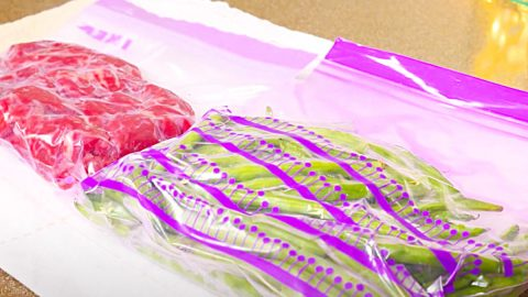 Easy Hack To Seal Any Freezer Bag | DIY Joy Projects and Crafts Ideas