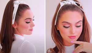 5-Minute Iconic Perky High Ponytail