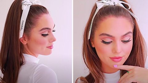 5-Minute Iconic Perky High Ponytail   DIY Joy Projects and Crafts Ideas