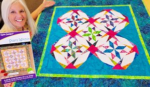 Stars Within Paper Piecing Quilt