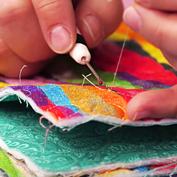 How To Rip A Seam Properly - Easy Seam Ripping - How To Fix Sewing Work