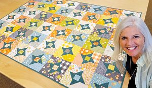 Twinkle Twinkle Little Star Quilt With Free Pattern